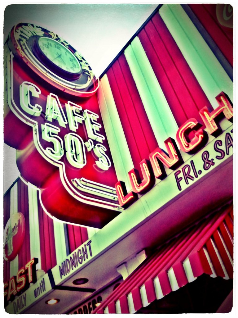 Cafe 50's Los-Angeles,CA.